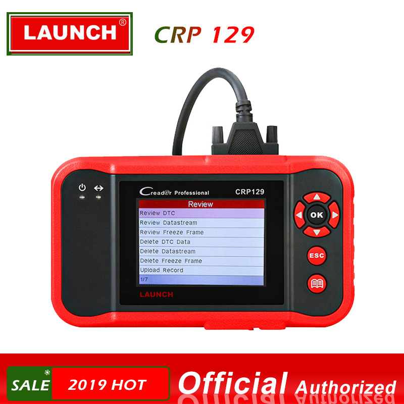 Lancio X431 CRP129 Creader 129 Strumento di Diagnostica Lettore di Codice di obd 2 di Lancio diagnosi scanner automotive auto diagnosi CRP 123 VIII