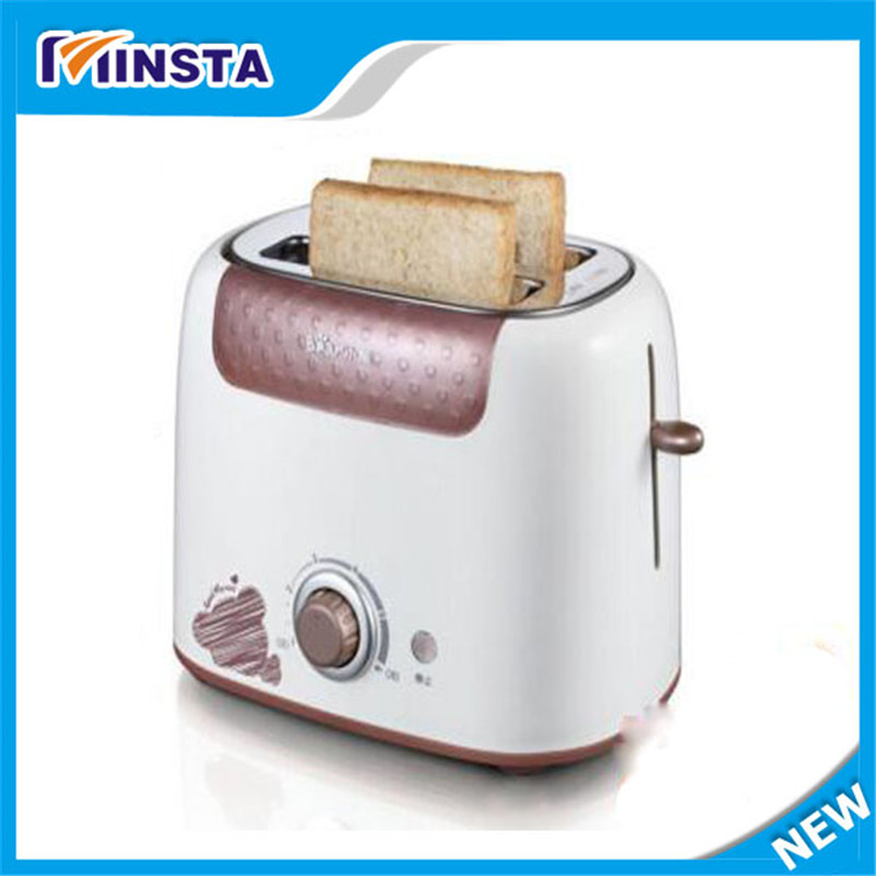 Free Shipping By Household Automatic Stainless Steel of 2 Slice Toaster Bread Machine Home Appliance kitchen slice of bread cake separators white green 2 pcs