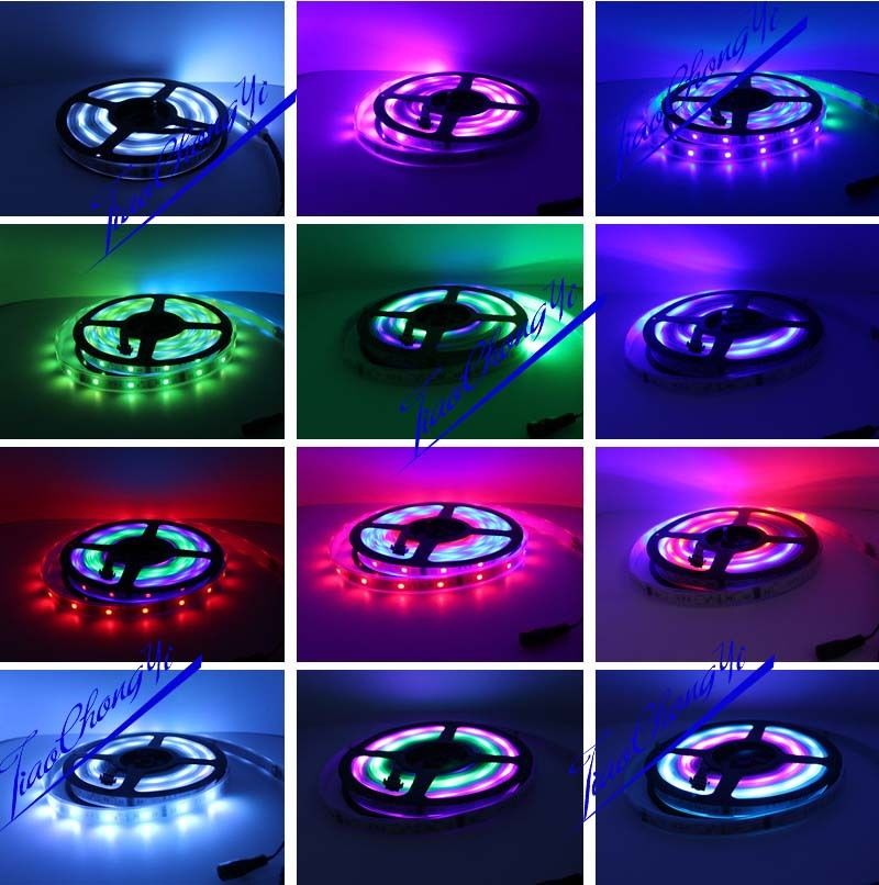 50 M 5050 RGB Dream Color 6803 LED bande + T1000S Controll + 12 V 40A 500 W puissance - 5