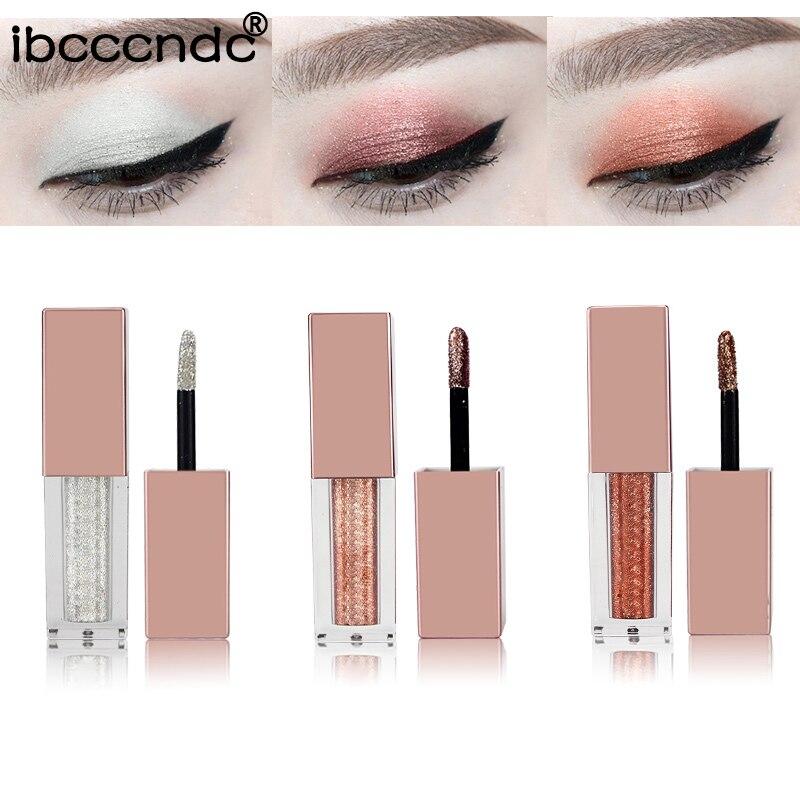 New Arrival Metal Liquid Eyeshadow Liquid Shimmer Stick Glitter Glow Eyeshadow Beauty Cosmetic Gift For Girl Makeup
