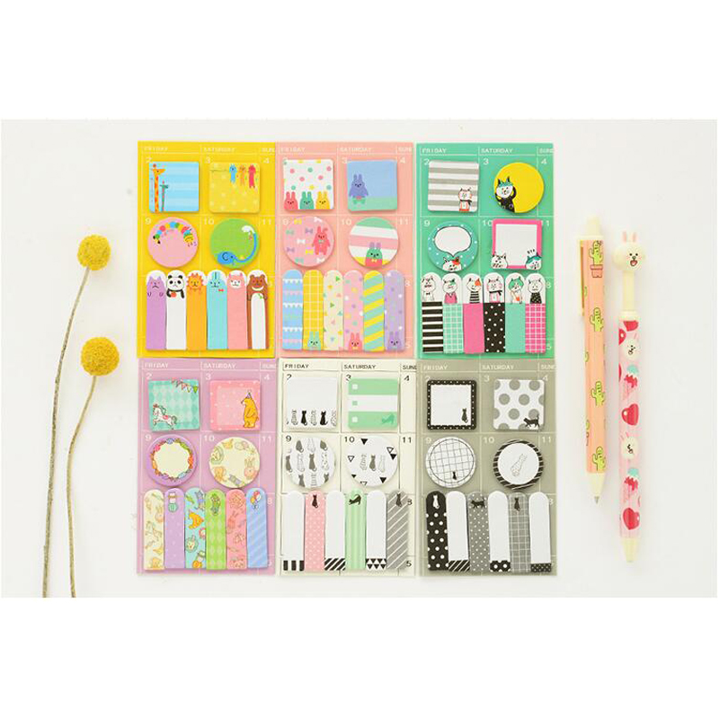 Kawaii, Sticky, Stick, Stationery, Label, Color