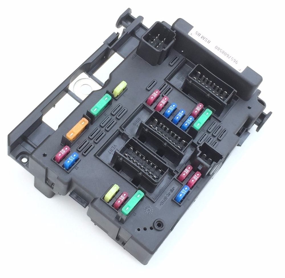 fast shipping Fuse Box Unit Assembly RELAY for PEUGEOT 206 CABRIO 307  CABRIO 406 COUPE 807 CITROEN C3 C5 C8 XSARA PICASSO-in Fuses from  Automobiles ...