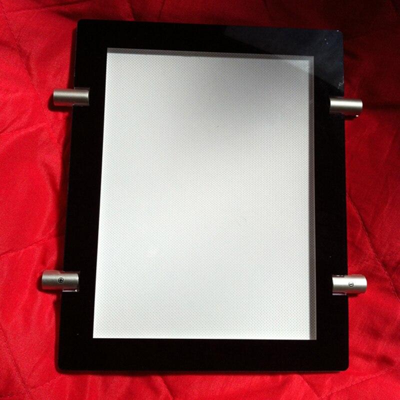 5 einheit/Spalte) A3 Einseitig Magnet Gesicht LED Magnetische Licht ...