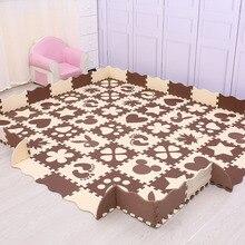 Mei qi fresco 30 cm * 30 cm * 1 cm material de eva playmat baby play mat suelos espuma niños bebé pad mat puzzle alfombras y moquetas