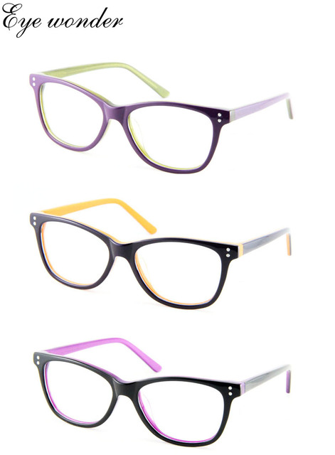 Women Retro Acetate Optical Vintage Glasses Frames Wholesale Eye ...