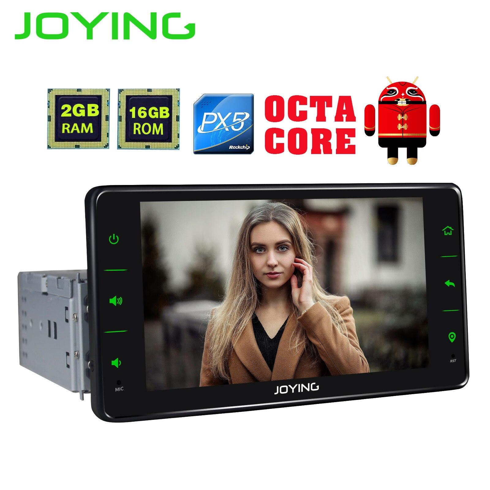 QD6 2 Android 8 1 Car Radio Stereo Octa Core GPS Navigation 2GB 16GB Universal Head