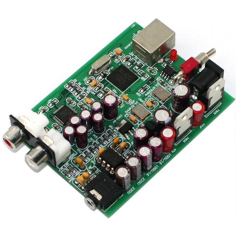 Ak4490 Modul Ne5532 Usb Dac Decoder Board Audio Karte Unterstützung Pcm 16bit 24bit 32bit 192 Khz Dc9v Dekodierung Freies Verschiffen Tragbares Audio & Video Digital-analog-wandler KöStlich Xmos U8