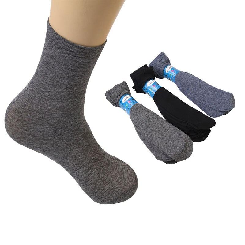 10Pairs Men Sock Autumn Thin Business Tube Casual Men Stall Supply Sock Vintage Loose Silk Mercerized Cotton Stockings Men Sock