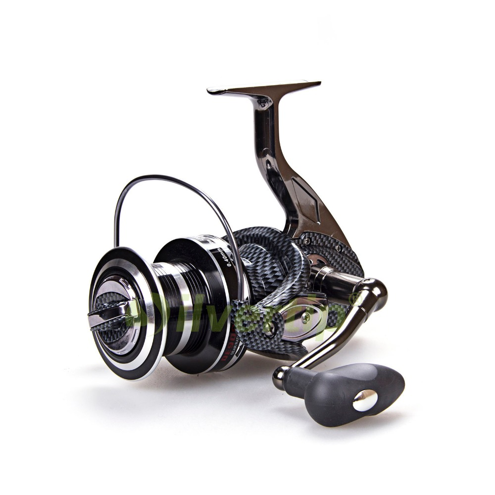 Free shipping big game spinning fishing reel 12 1 bb fddl for How to reel in a fish