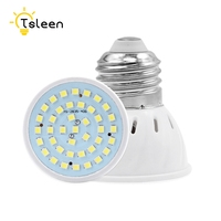 TSLEEN 10Pcs Bombillas led 4W 6W 8W AC 220V SMD 2835 LED Spotlight bulbs GU10 MR16 E14 E27 for home Energy Saving Lampada lamp