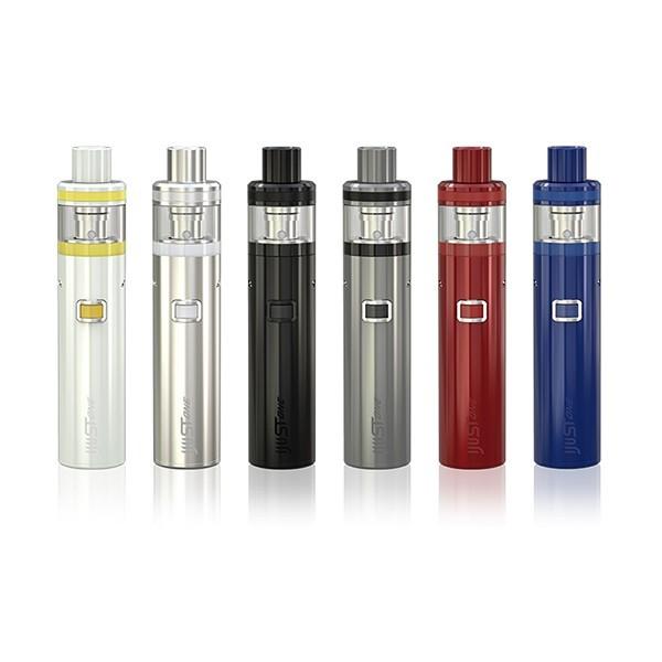 Eleaf ijust one 1100 mah starter kit cigarro eletrônico tudo em um estilo com bateria embutida 2 ml e-capacidade do tanque de líquido
