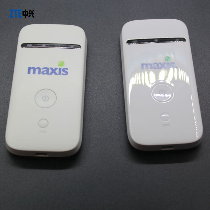 Unlocked New ZTE MF65 HSPA+ 21 6Mbps 3G Wireless Router 3G UMTS 2100MHz  Mobile Pocket WIFI Broadband 3G SIM Card Mifi Router
