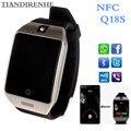 2016 НОВЫЙ Bluetooth smart watch Apro Q18s Поддержка NFC SIM GSM видеокамера Поддержка Android/IOS Мобильный телефон pk U8 android часы