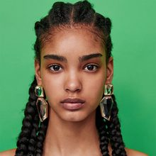 GEEZII European and American fashion exaggerated geometric drop earrings big female spring bohemian drop earrings for women(China)