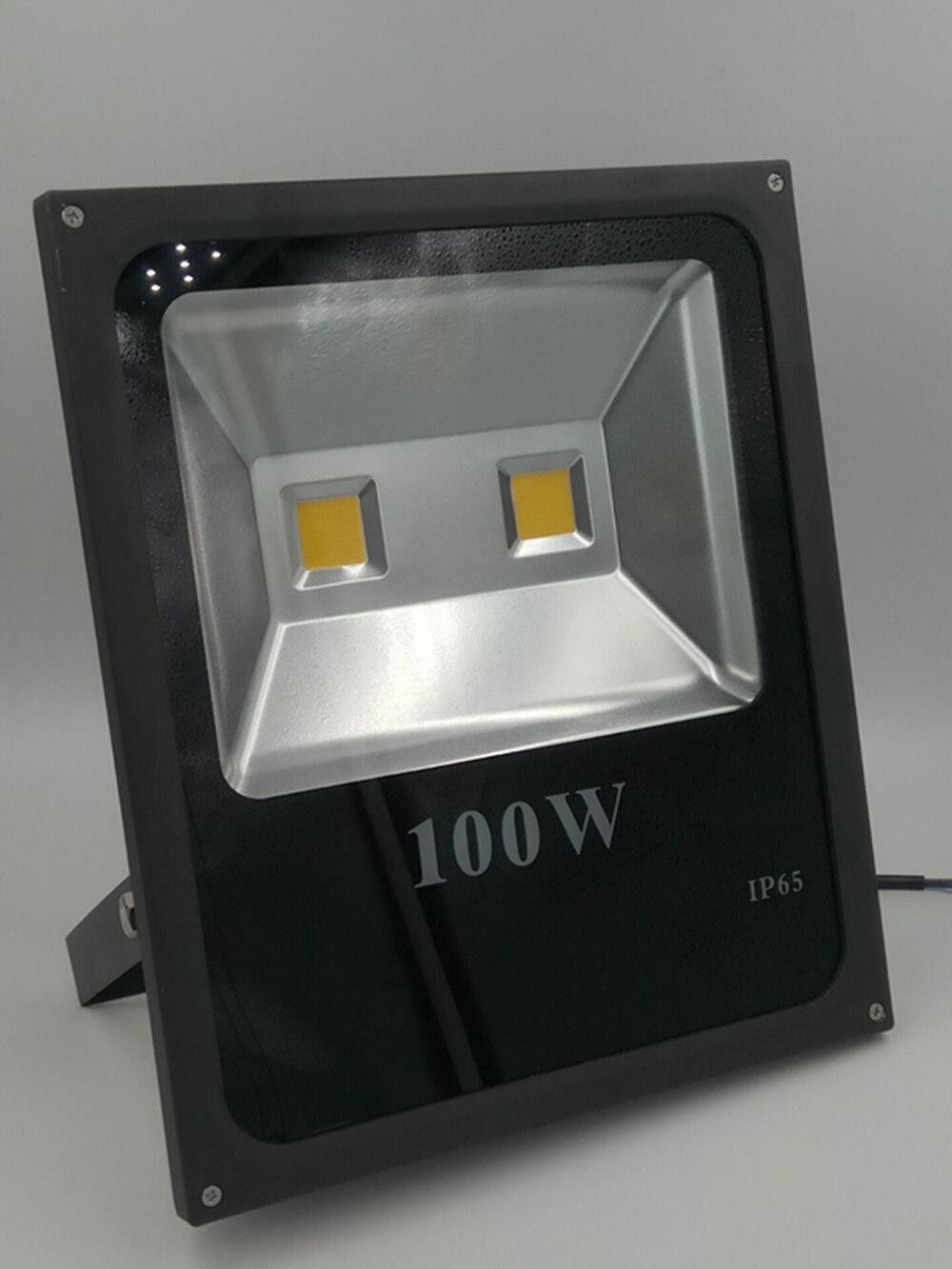 Waterproof LED Flood Light 100w 220V 240V Projecteur Foco Led Floodlight Refletor Spotlight Outdoor Exterieur
