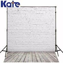 Kate branco tijolo backdrop fotografia fundos para estúdio de fotografia bonito rádio retro photographi digital