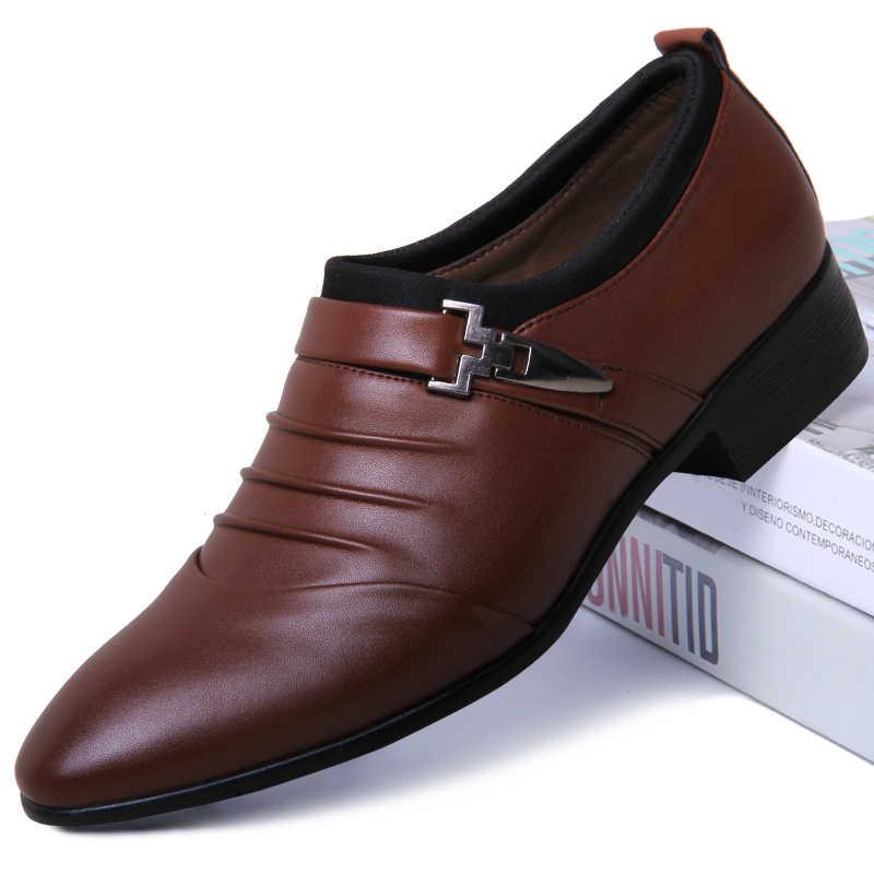 وأشار تو الرسمية أحذية رجل الزفاف أكسفورد أحذية للرجال اللباس أحذية 2019 رجل أوكسفورد أحذية من الجلد الرجال zapatos هومبر vestir