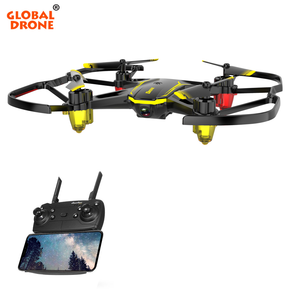 Global Drone GW66 Mini Quadrocopter RC Helicopter Altitude Hold Toys for Kids FPV Drones for Beginner Micro Dron with Camera