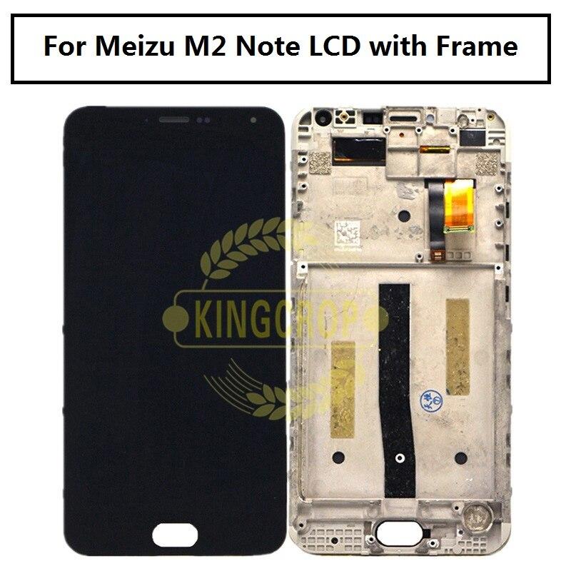 imágenes para M2 Original para MeiZu Nota LCD con el marco y la Pantalla Táctil Asamblea digitalizador Reparación Piezas 5.5 pulgadas Para Para M2 MeiZu Nota