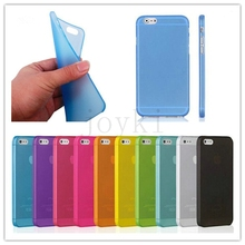 Soft Thin Cover for iphone Case Matte Frosted Clear Transparent phone for iphone 4 4S 5 5S SE 6 6S 6 PLus 5C 7 7Plus case cover