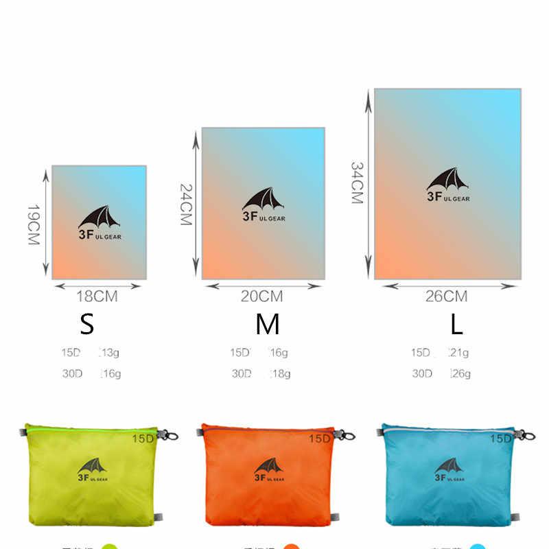 3F UL GEAR 15D silikon 30D Cordura wodoodporna torba do przechowywania odzieży torba do przechowywania różności torba pływająca