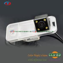for 2015 Hyundai IX25 KIA CARENS 2013 car rear view reverse camera ccd with lEDS night vision waterproof wide angle mirror image