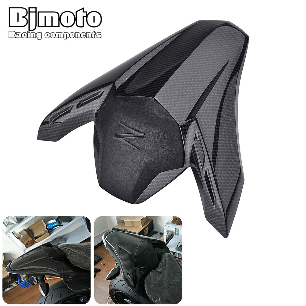 BJMOTO Motorcycle Accessories For Kawasaki Z900 Z 900 2017-2018 Motocross Rear Seat Cover Cowl High Quality ABS недорого