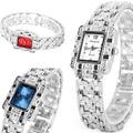 Relogio Feminino Dress Wrist Watches Women Rectangle Dial Clock Women's Bracelet Watches Fashion Lady Quartz Watch Montre Femme