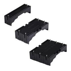 ALLOYSEED ABS 18650 Чехлы для портативного зарядного устройства 1X2X3X18650 Батарея держатель для хранения Box Дело 1 2 3 Слот контейнер для батарей с