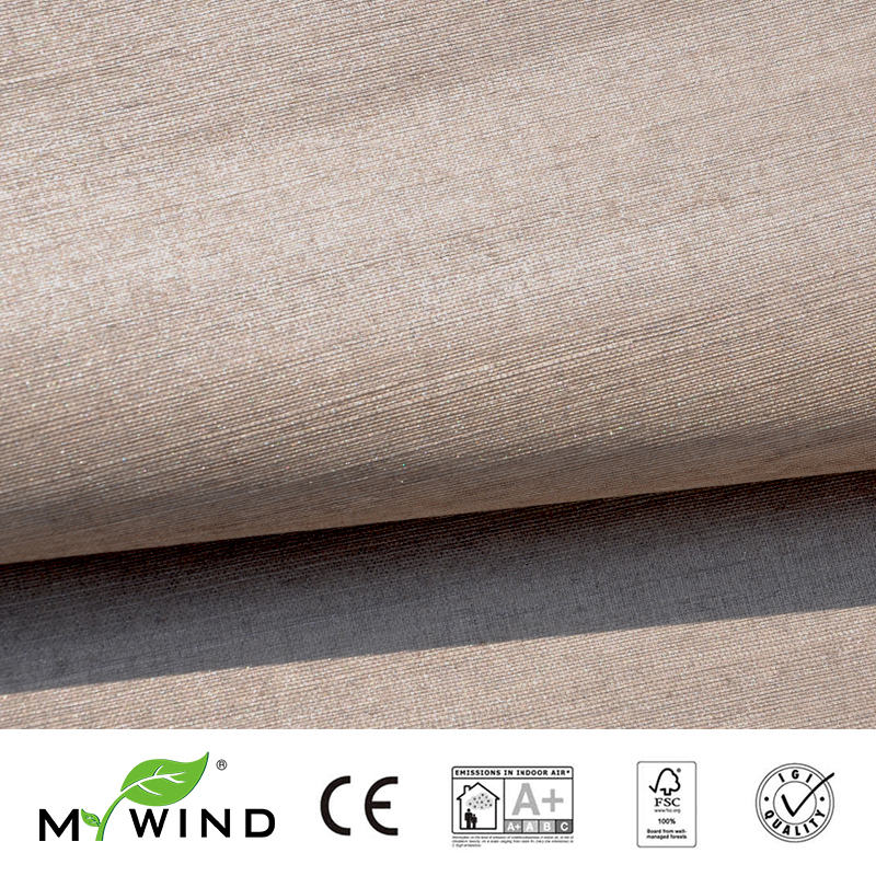 2019 MY WIND Grasscloth Wallpaper Sisal 3D Wallpapers Designs Children Embroidery Living Room 3d Restaurants Wall Paper For Wall