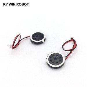 """Image 5 - 2 יחידות חדש אלקטרוני כלב GPS ניווט רמקול צלחת 8R 1 w 8ohm 1 w קוטר 20 מ""""מ 2 ס""""מ עם 1.25 מ""""מ מסוף חוט אורך 10 ס""""מ"""