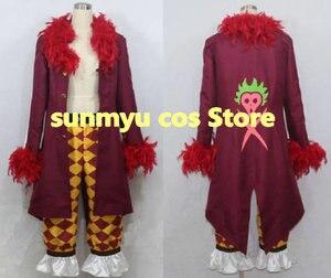 Бесплатная доставка! Цельный Бартоломео косплей костюм, Индивидуальный размер Хэллоуин оптовая продажа