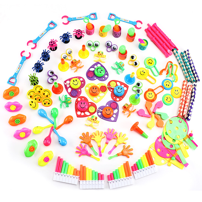 Carnival Toy Box Pink: Amy & Benton108pcs Carnival Prizes For Kids Birthday Party