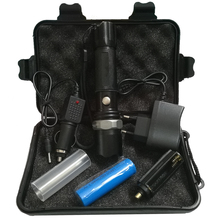 5000 Lumens Tactical Flashlight LED CREE Flash Light High Power Torch Zoomable Flashlight For 18650 Battery