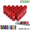 Blox Racing Forged 7075 Aluminum Lug Nuts P 1.5 L : 50mm (20Pcs/Set) BLOX-750-1.5