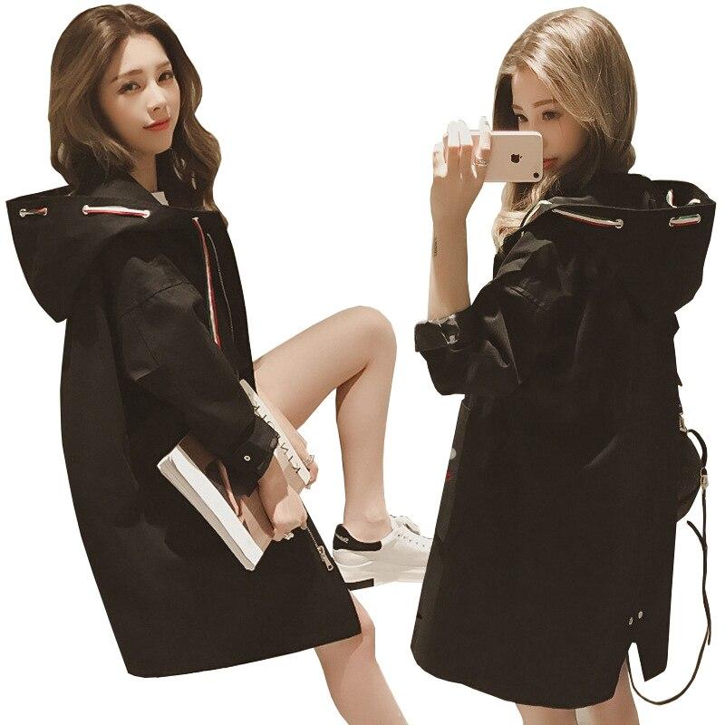 2018 New Spring ladies long bomber jackets women basic coats army green military female coat windbreaker casaco feminino