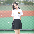 Student School uniform set Sailor suit Class service Japanese school uniform Korean Summer