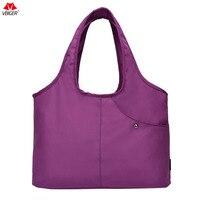 Vbiger Women Handbag Large Capacity Shoulder Bag Reusable Grocery Bag High Quality Oxford Cloth Shopping Bag