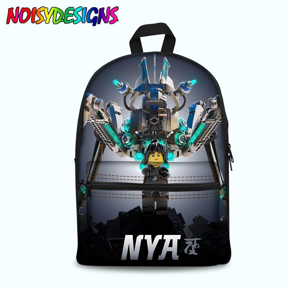 Mini Backpack Feminine Schoolbag For Girls Female School Back Pack Ninjago Games 3d Prints Women Bagpack Rucksack Dropshipping Kids & Baby's Bags