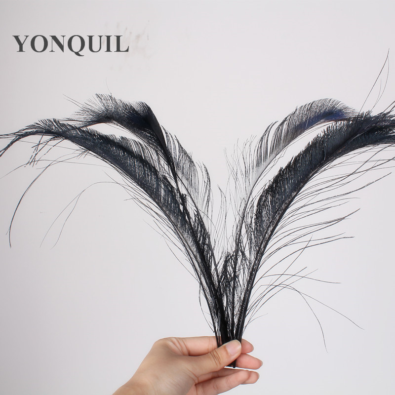 50PCS/lot Sale high quality pheasant feather 25-35cm dyed colors feathers DIY jewelry accessor handmade for cloth accessories