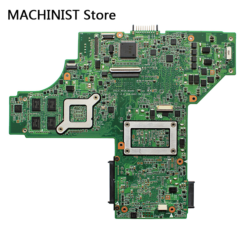 U45JC  motherboard I3-370M GF310M For ASUS U45 U45J U45JC laptop motherboard REV2.0 I3-370M GF310M DDR3 HM55 1