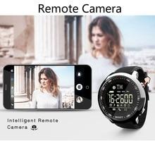 Smart Watch IP68 Waterproof 5ATM Pedometer Message Reminder Long Standby Time Backlight Fitness Tracker Wristwatch Bracelet