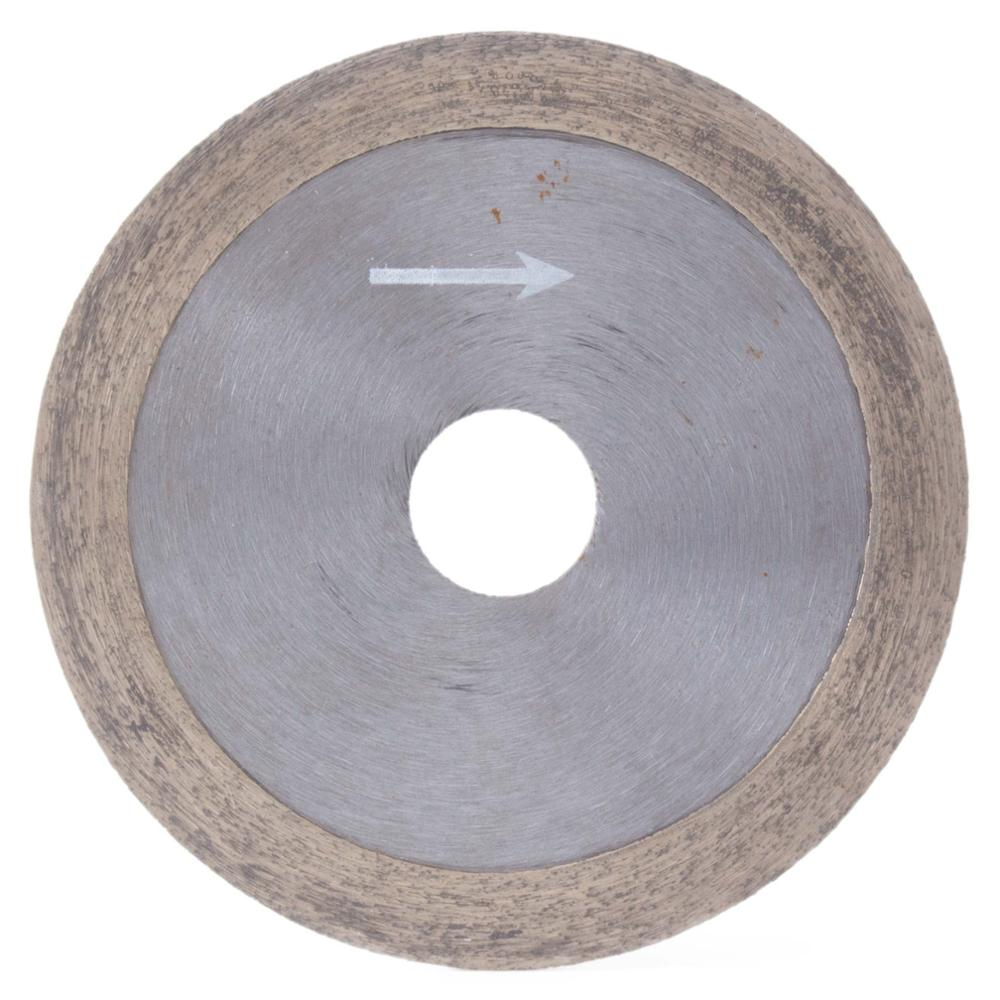 """4"""" Inch 100mm X 20mm X 1mm Diamond Continuous Rim Saw Glass Wet Cutting Blade Arbor 5/8"""" 3/4"""""""