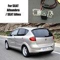 Thehotcakes Cámara Posterior Del Coche Para SEAT Alhambra/Altea SEAT/Back estacionamiento de La Cámara/CCD HD RCA NTST PAL/Luz de la Matrícula OEM