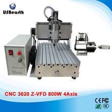 LY 3020Z-VFD800W 4 axe mini CNC fraisage machine assemblé graveur