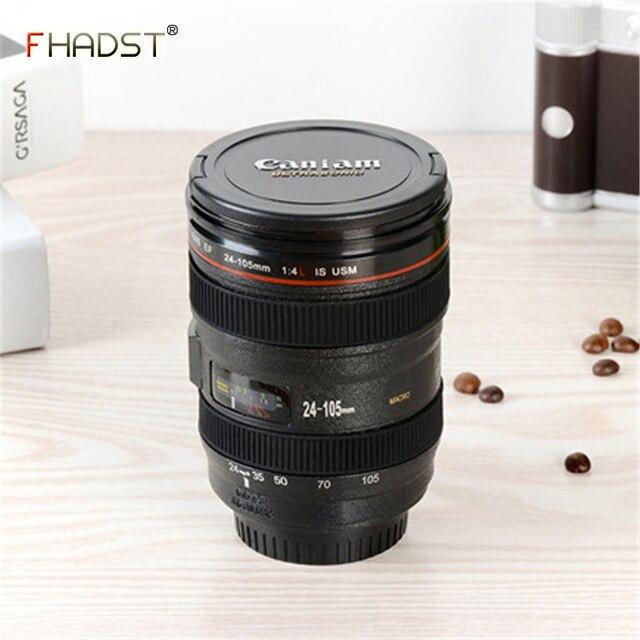 2018 Nuovo 480 ML Emulazione Creativa Camera Lens Tazze di Caffè di Plastica Bot