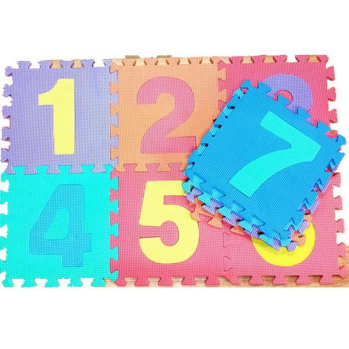 36PCS Baby Kids Soft Play Mat Set Alphabet Numerals Educational Puzzle Toy Floor