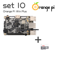 Orange Pi Win Plus SET10: Pi Win Plus and 16GB Class 10 Micro SD Card Supported Android, Ubuntu, Debian Above Raspberry