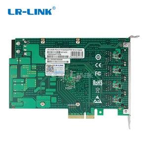 Image 5 - LR LINK 2004PT POE POE + جيجابت إيثرنت رباعية ميناء إطار المنتزع بطاقة الصناعية مجلس PCI اكسبرس فيديو التقاط إنتل I350