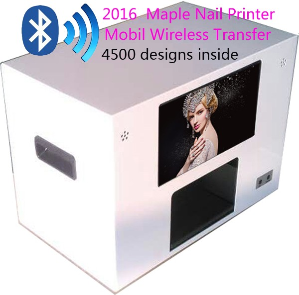 New 2016 Ce Approved Factortry Offer Nail Salon Tool Printing Machine Art Digital